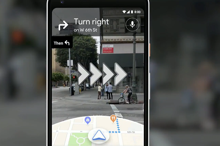 Google's augmented reality Maps are live for some users