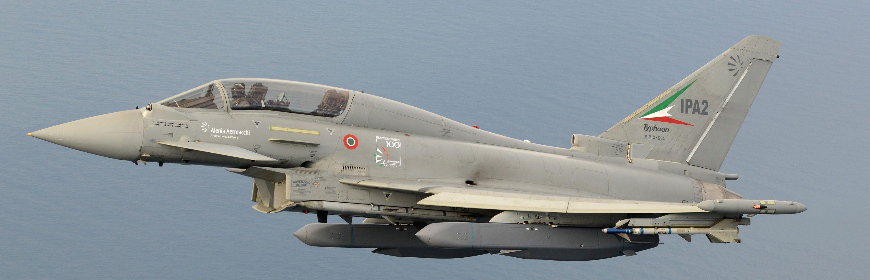 Eurofighter Typhoon Storm Shadow Initial Flight Trials