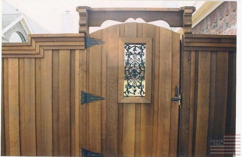 Different types of fence gates are used to secure our property