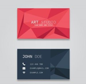 How to make your own business card design? | Business card ...