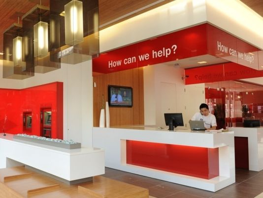 Bank teller window design bank of america overhauls bank if you