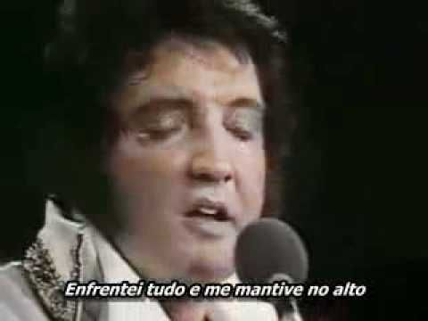 Elvis Presley My Way Live Ao Vivo Legendada Em Portugues