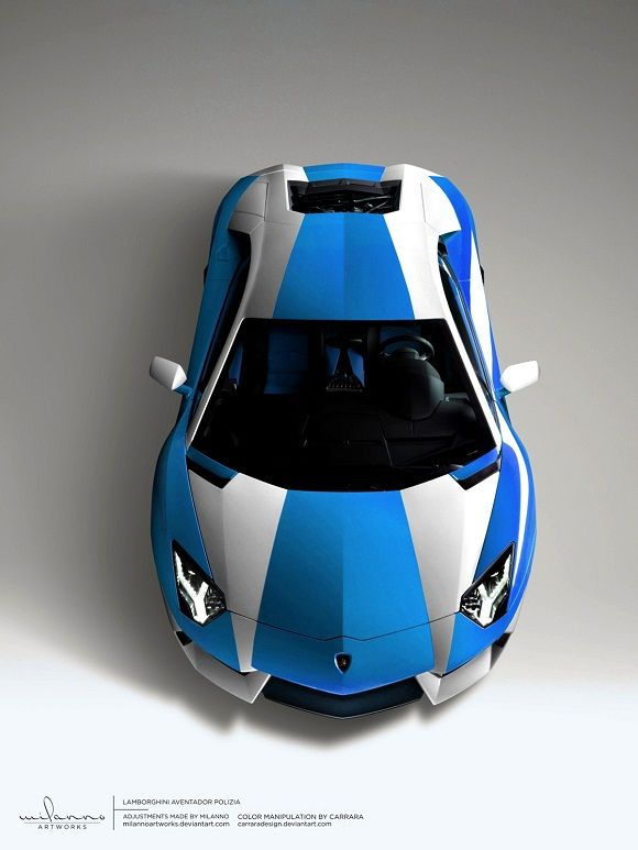Lamborghini Aventador Polizia... Why can't Canada have more crime?! Then we could have police cars like this