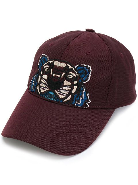 3ee99584026 Shop Kenzo Tiger embroidered cap. Embroidered Caps