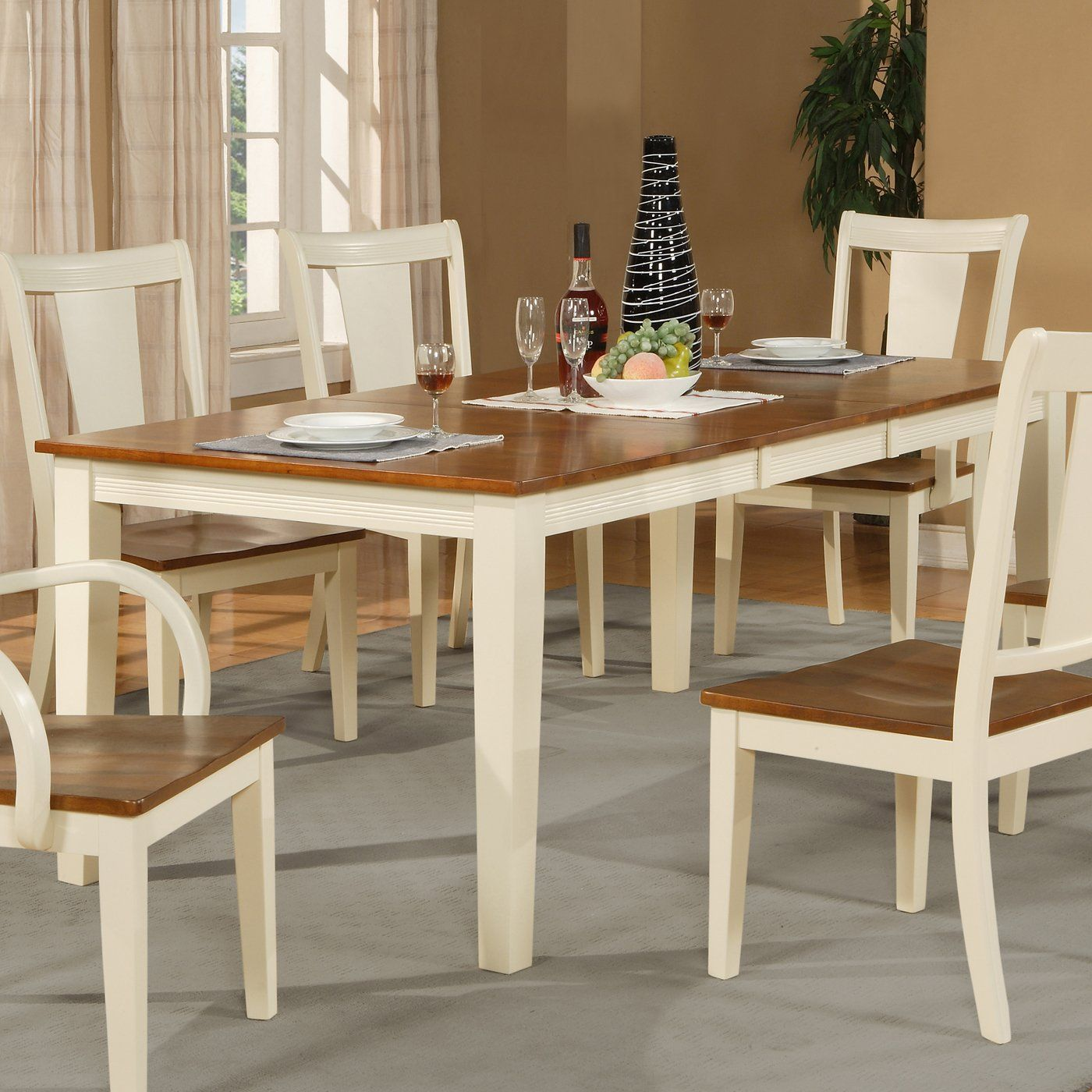 Wooden Imports CT13 T Canton Rectangular Dining Table