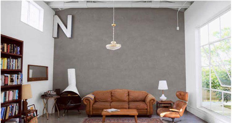 Enduit décoratif  4 effets déco avec un enduit prêt à lu0027emploi Walls - enduit pour mur interieur