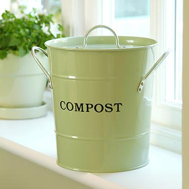 The 2 In 1 Kitchen Compost Pail In 2020 Compost Container Compost Pail Compost Bucket