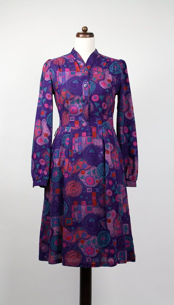 Vintage Kleid // Lila von VaneVaneVintage auf Etsy ...
