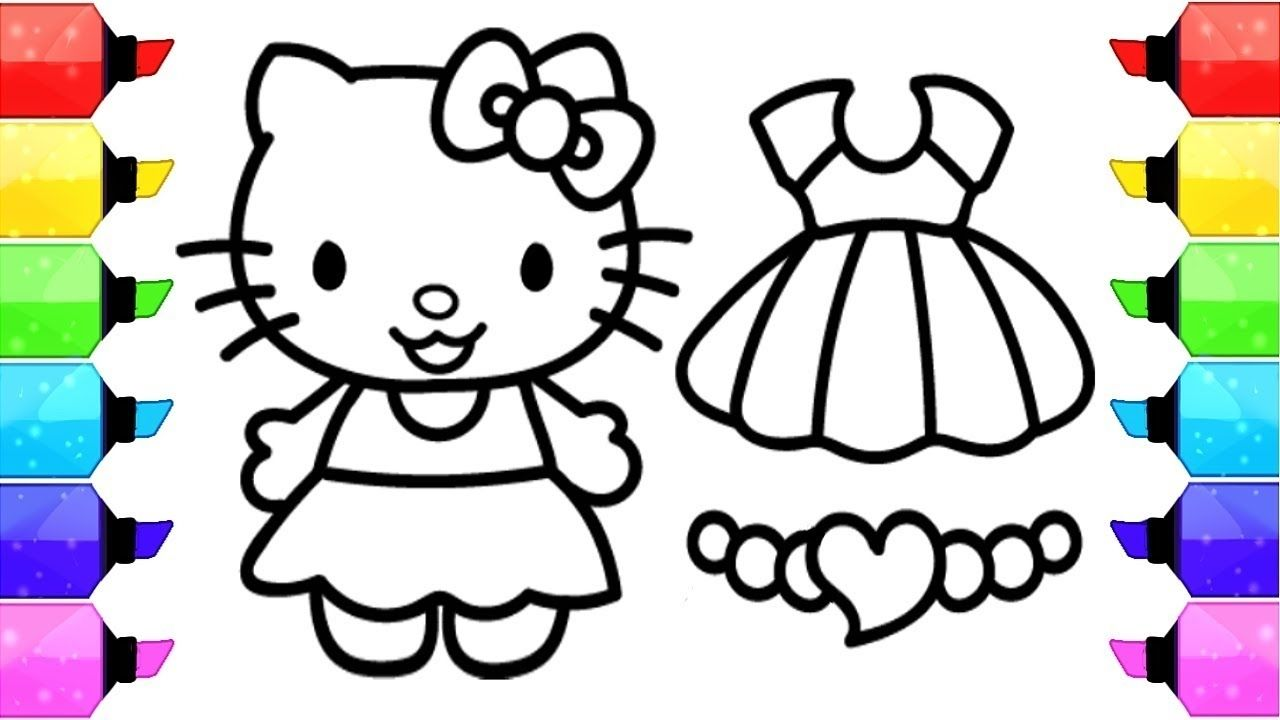 Hello Kitty Colouring Games Coloring Pages Allow Kids To Accompany Their Favorite Characters Hello Kitty Colouring Pages Kitty Coloring Hello Kitty Coloring