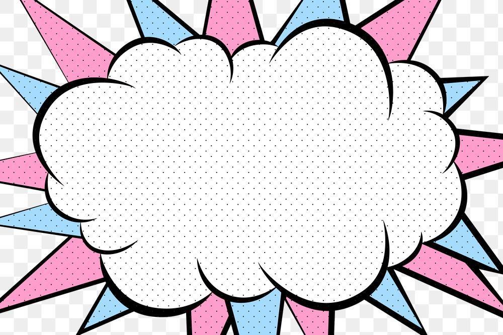 Cloud Cartoon Effect Speech Bubble Design Element Free Image By Rawpixel Com Techi Design Element Free Illustrations Speech Bubble