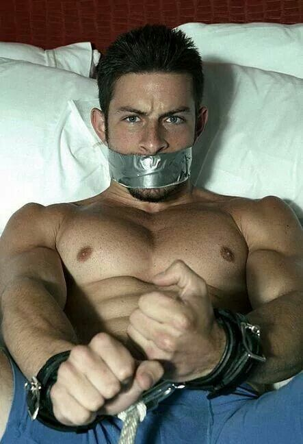 Gay male boundandgagged