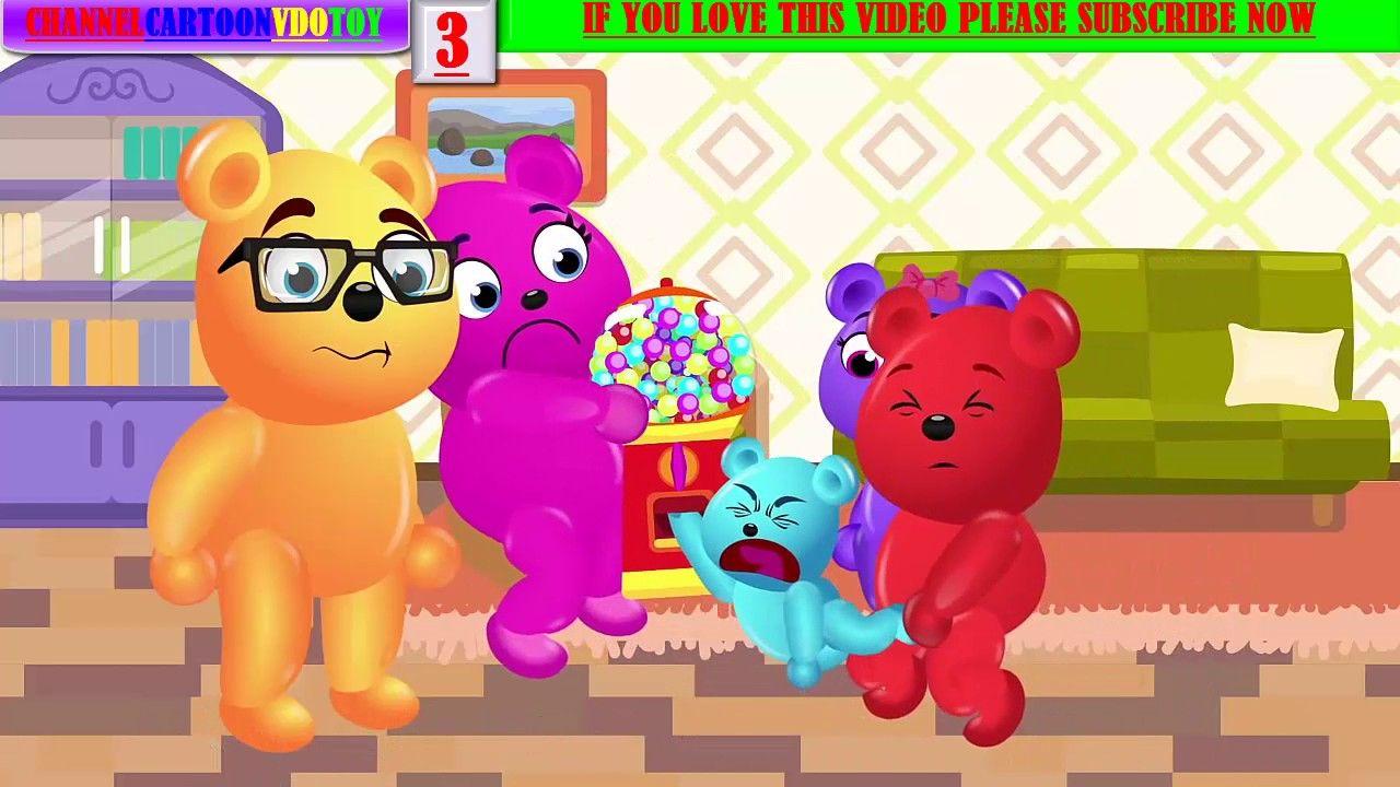 💚💗💛 CARTOONVDOTOY Mega Gummy Bear Crying Crashed With