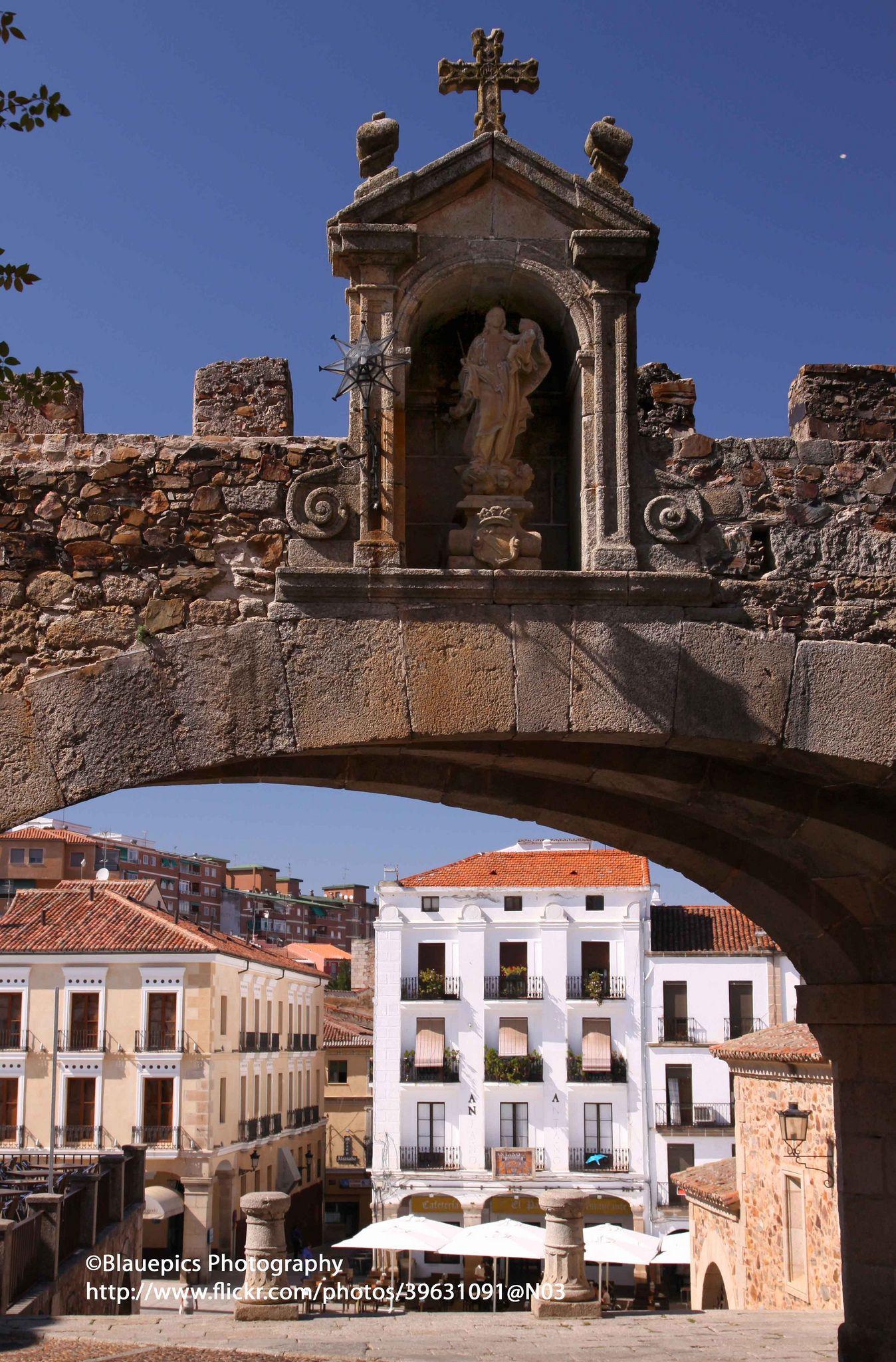 Cáceres, Arco de la Estrella,  Extremadura  Spain