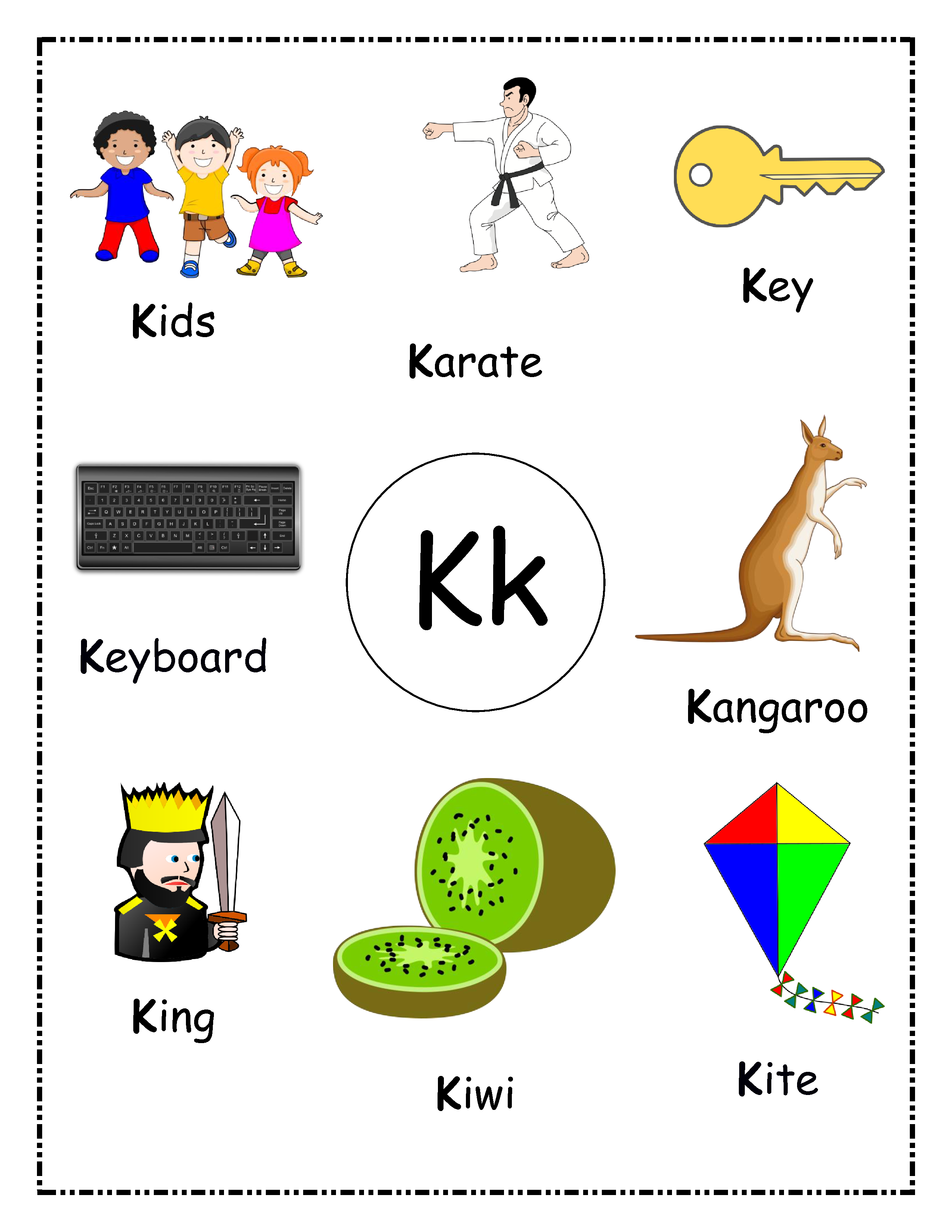 Toddler S Alphabet Picture Book Alphabet Phonics Alphabet For Toddlers Alphabet Worksheets Preschool [ 3300 x 2550 Pixel ]