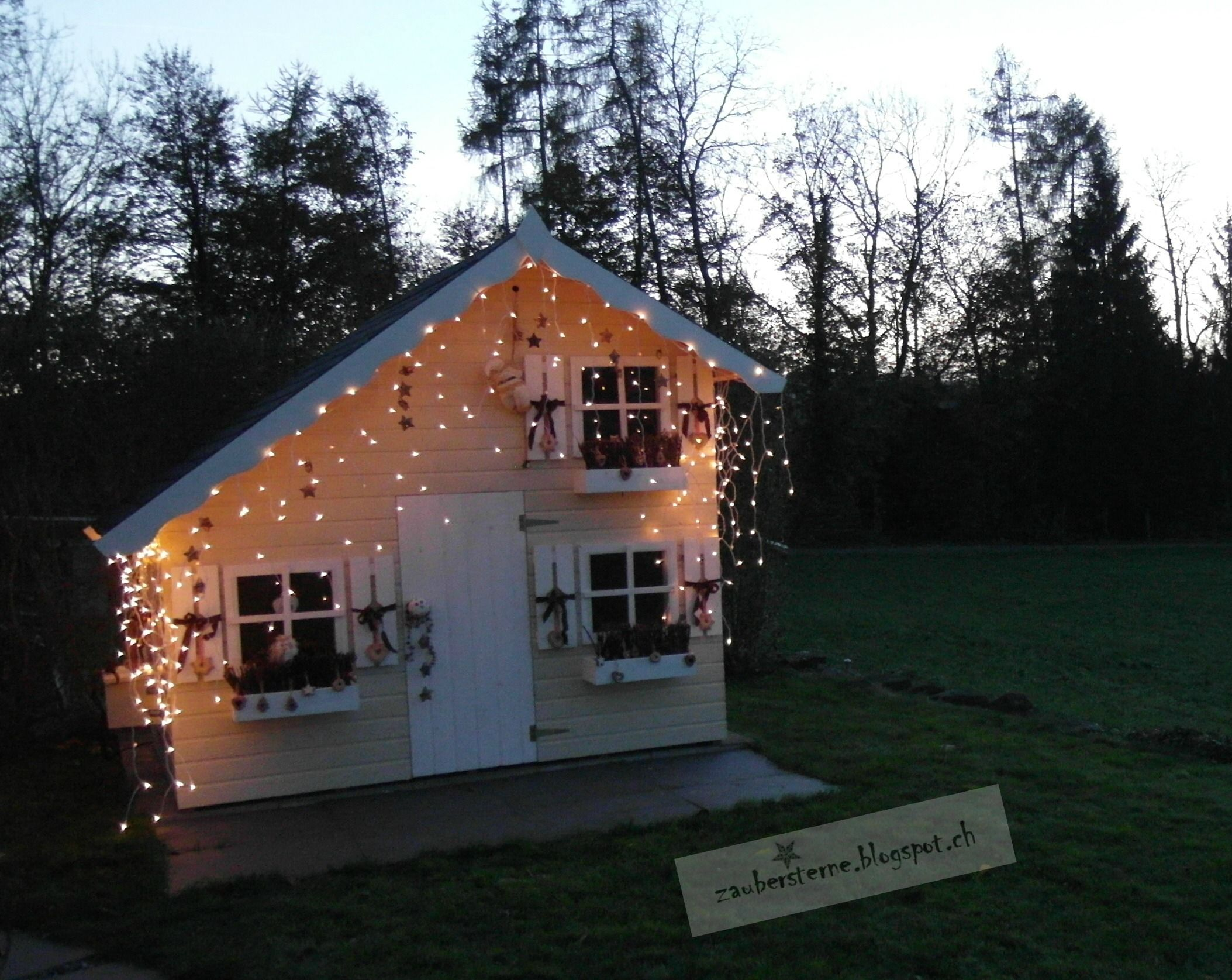 Simple Knusper Spielhaus