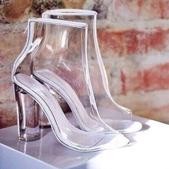 shoes clear boots see through transparent high heel boots clear heels a9553e0b49a7
