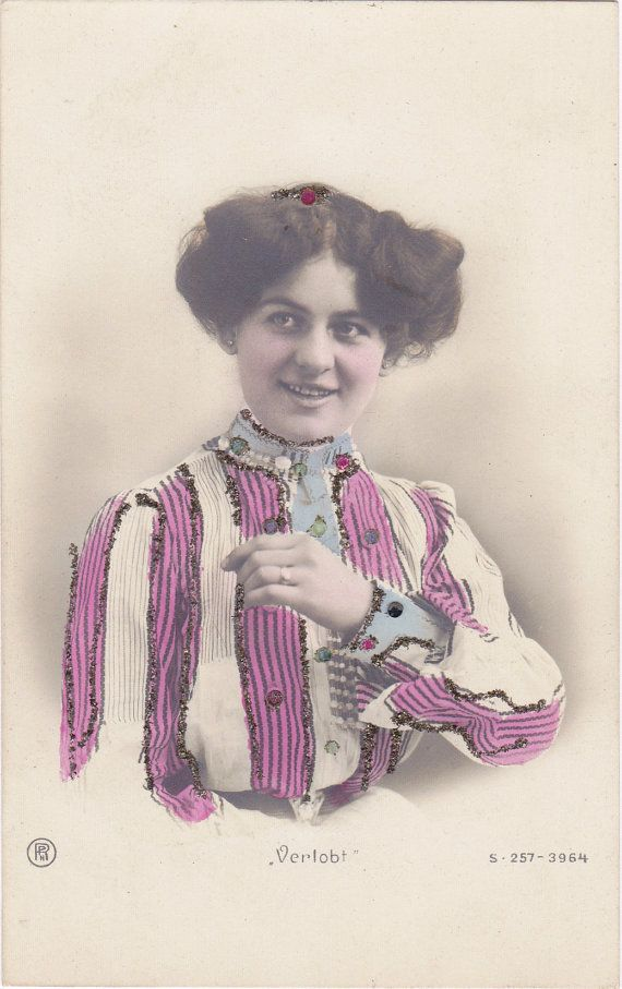 Edwardian Bride-To-Be 1900s Antique Photograph by EphemeraObscura
