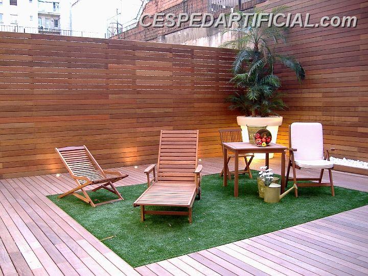 Ayuda con suelo para terraza exterior madera cer mica for Imagenes de terrazas