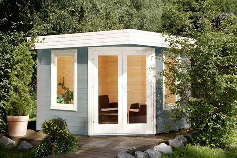 Gartenhaus Flachdach «280x280cm» FünfEck Holz Haus