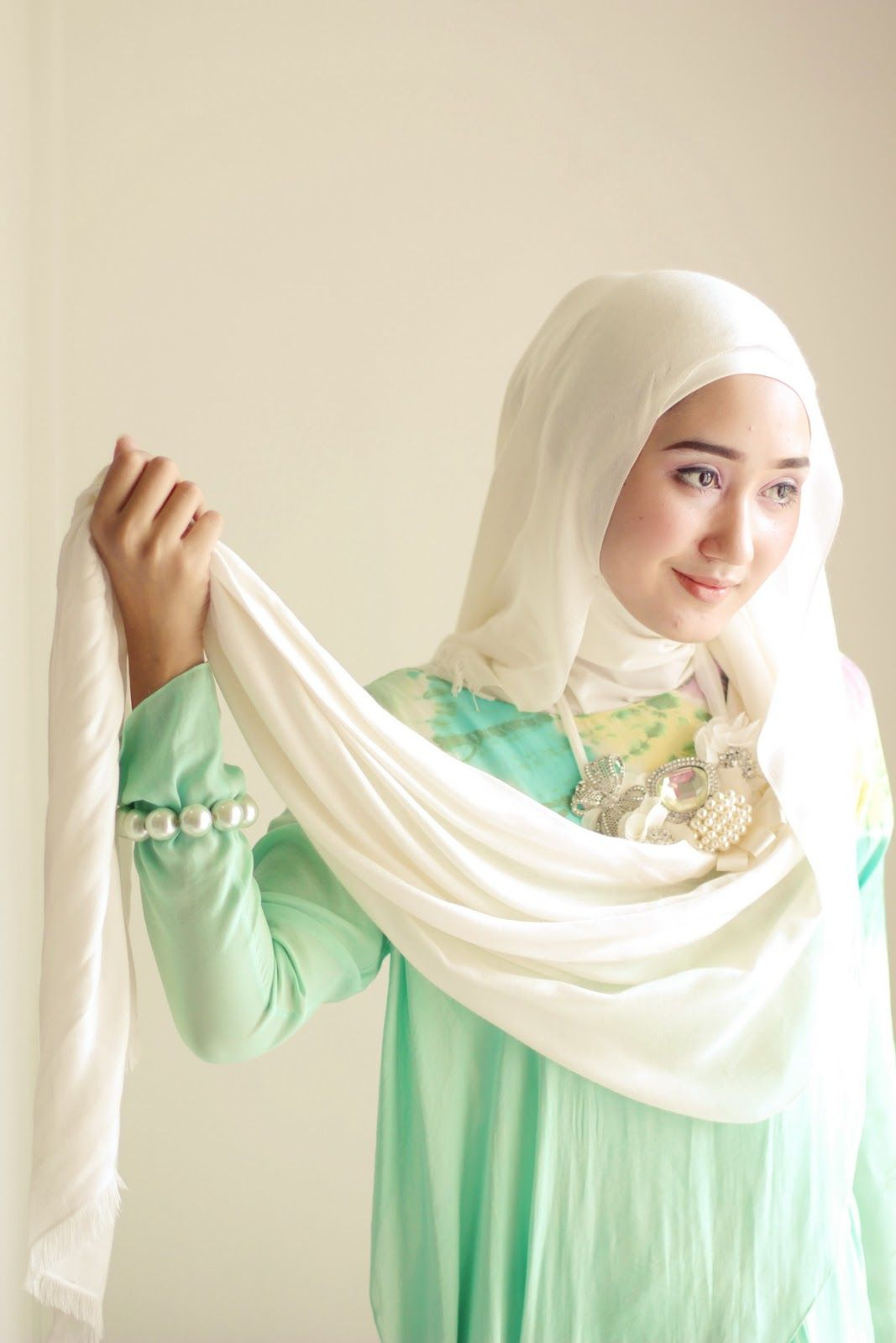 tutorial jilbab dian pelangi   i love my style   pinterest   hijab