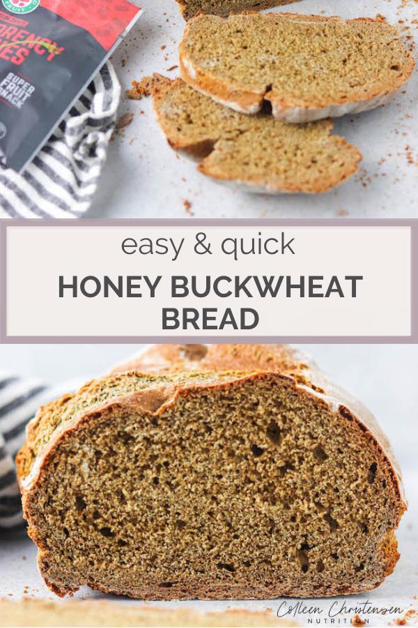 Honey Buckwheat Bread In 2020 Honey Recipes Homemade Bread Buckwheat Bread