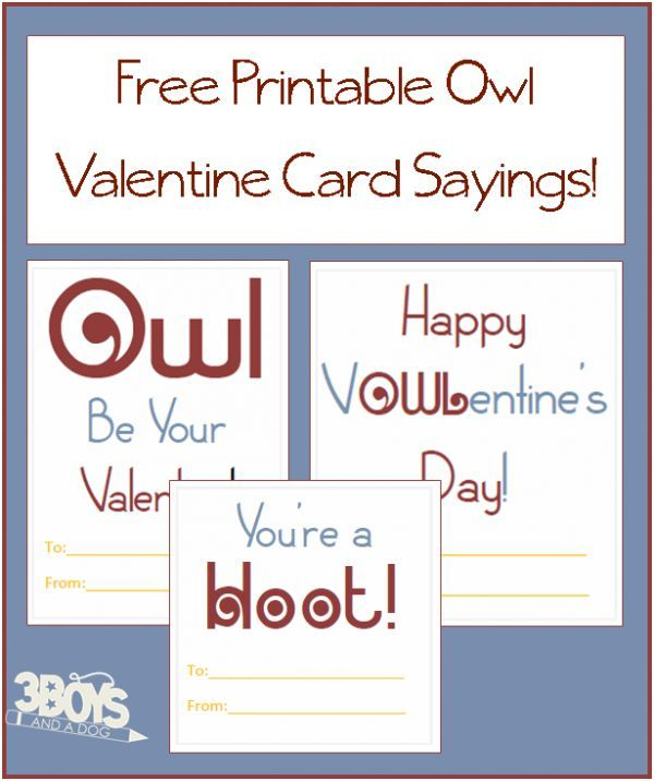 Punch Art Heart Owl Valentine Card Punch art, Owl and Free printable - valentines cards words