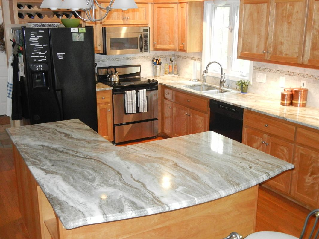 Ocean Beige Kitchen - Countertops By Superior- Granite, Marble ...