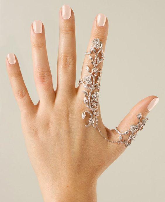 Dream Jewellery Finger Brace - Beautiful | Hand jewelry ...