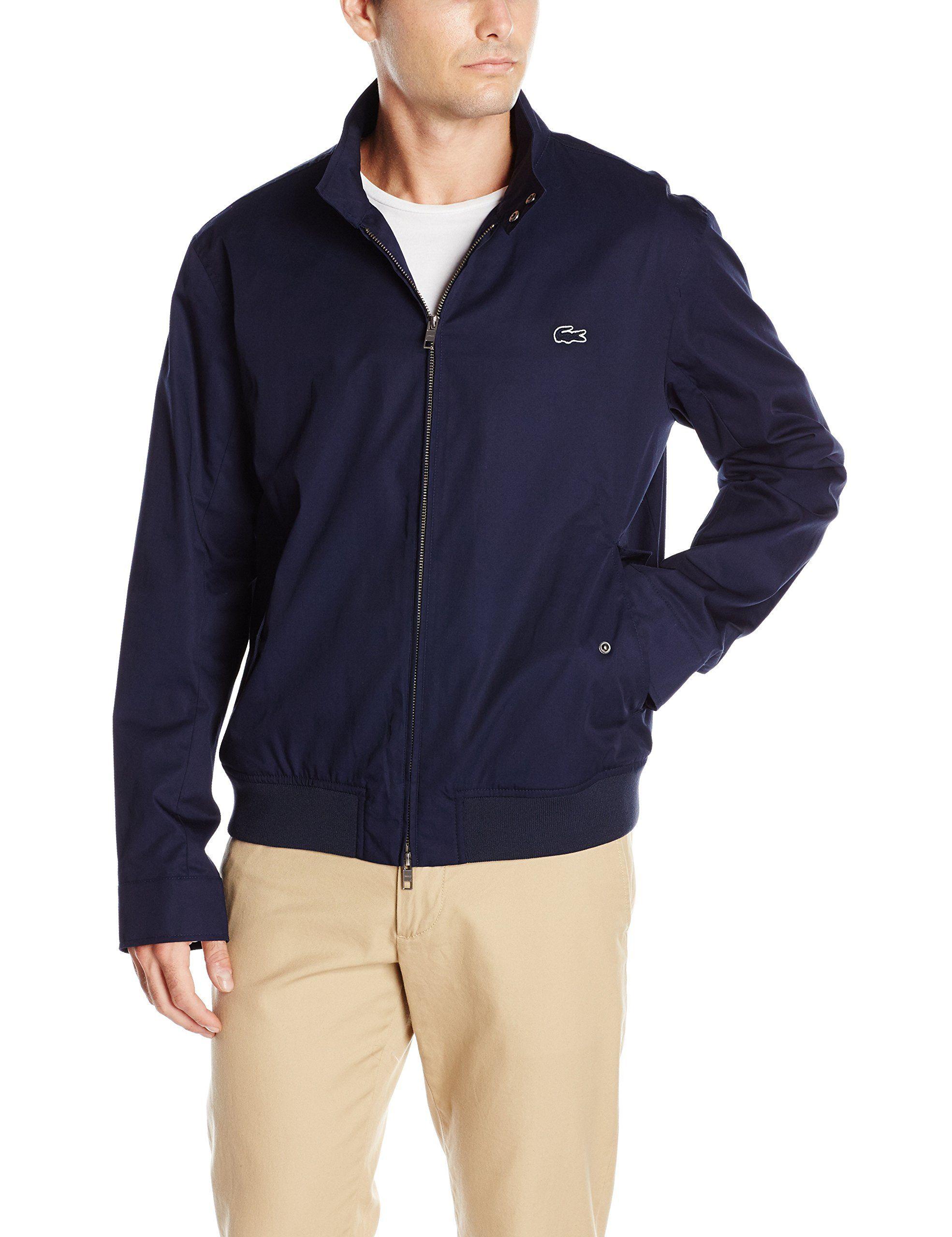 0059dd686 Lacoste Men s Business Casual Harrington Jacket