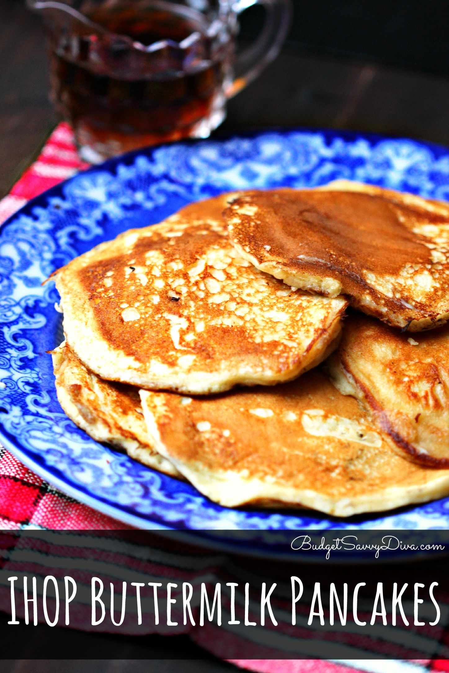 Ihop Buttermilk Pancakes Recipe With Images Easter Brunch Food