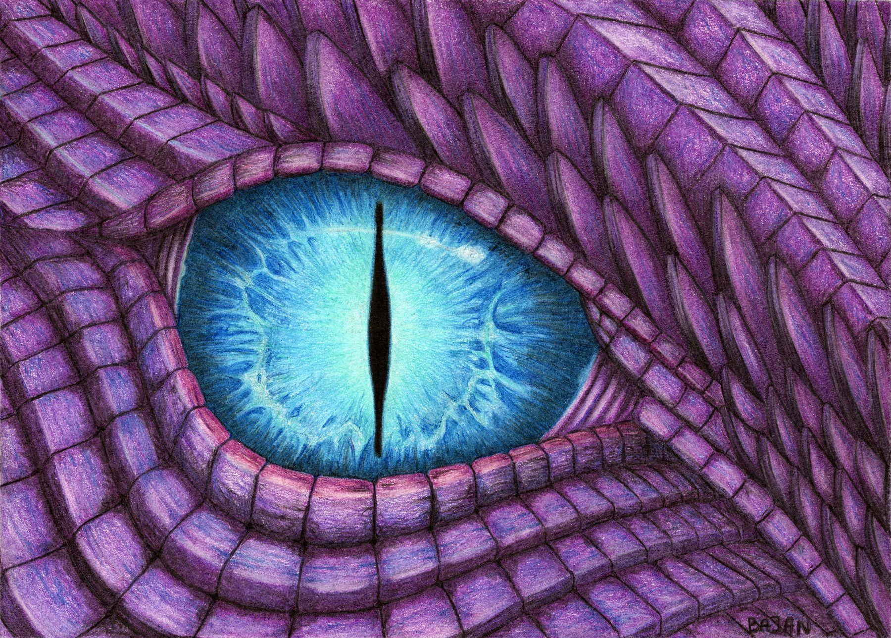 Глаз дракона в картинках