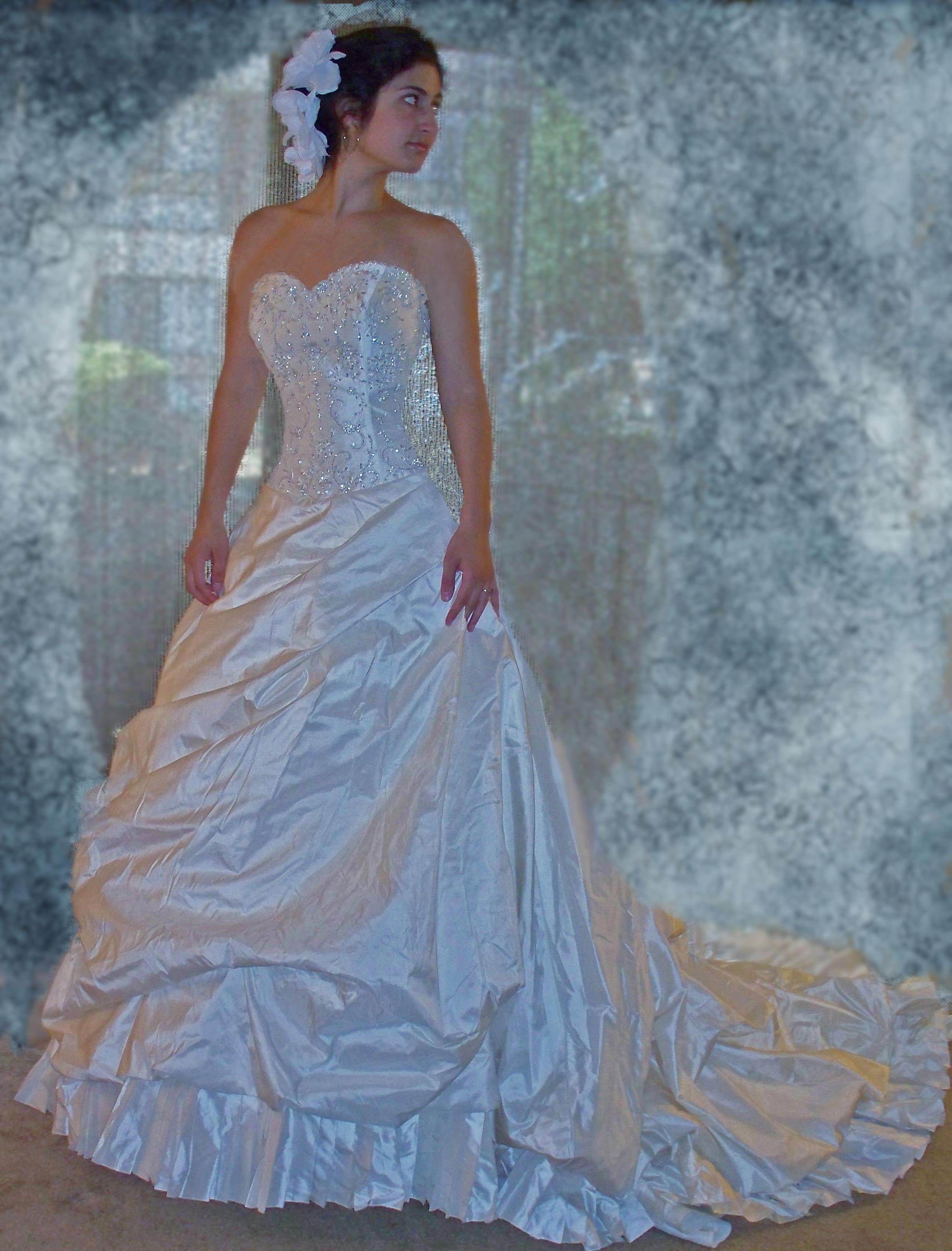 Winter Sale Wedding Dress | Wedding dress, Pronovias wedding dresses ...