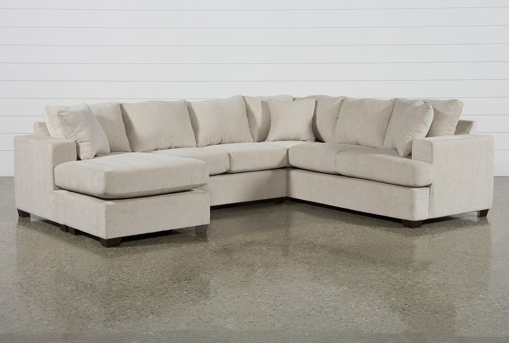 Kerri Sand 2 Piece Sectional Sofa With Left Arm Facing Sofa Chaise