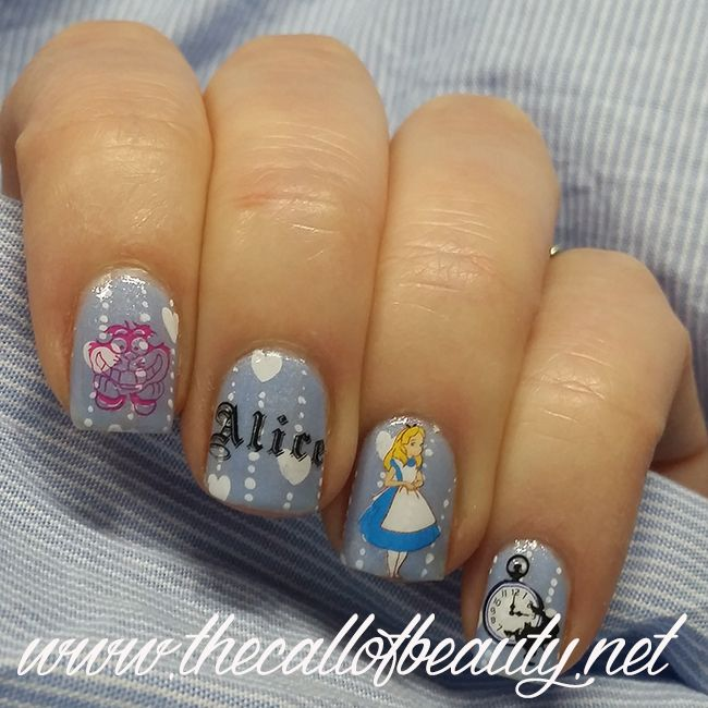 The Call of Beauty: Nail Art of the Day: Alice Nails
