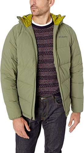 New Columbia Men's Lone Fir 650 TurboDown Hooded Jacket ...
