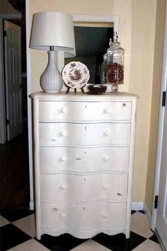 #shabbychic #dresser #5drawers #highboy Selling This On Ebay For $295