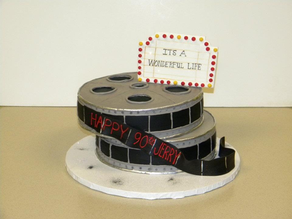 Its A Wonderful Life Birthday Cake Custom Birthday Cakes