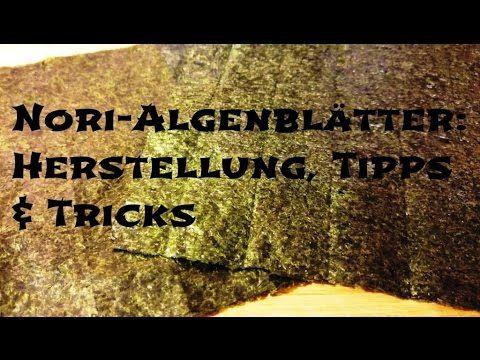 Was sind Nori-Algenblätter denn wirklich?