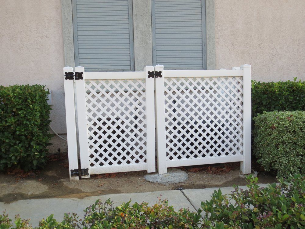 Vinyl Pro Fence Photos Lattice Fence Panels Lattice Fence