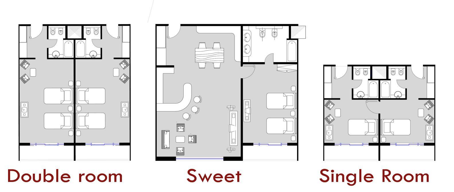 Gallery Of Father And Son Skyscraper Iamz Studio 13 Hotel Room Plan Hotel Floor Plan Hotel Floor