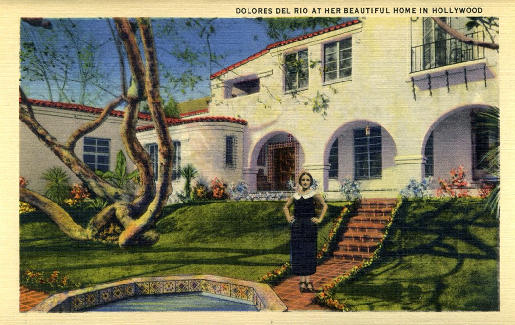 Vintage Hollywood Homes homes of classic hollywood stars | time machine to the twenties