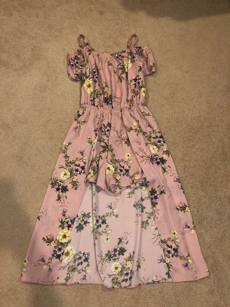 2d002c45b9d Girls SOPRANO Pink Floral Polyester Romper Dress  Size 14  fashion  clothing   shoes  accessories  kidsclothingshoesaccs  girlsclothingsizes4up (ebay  link)