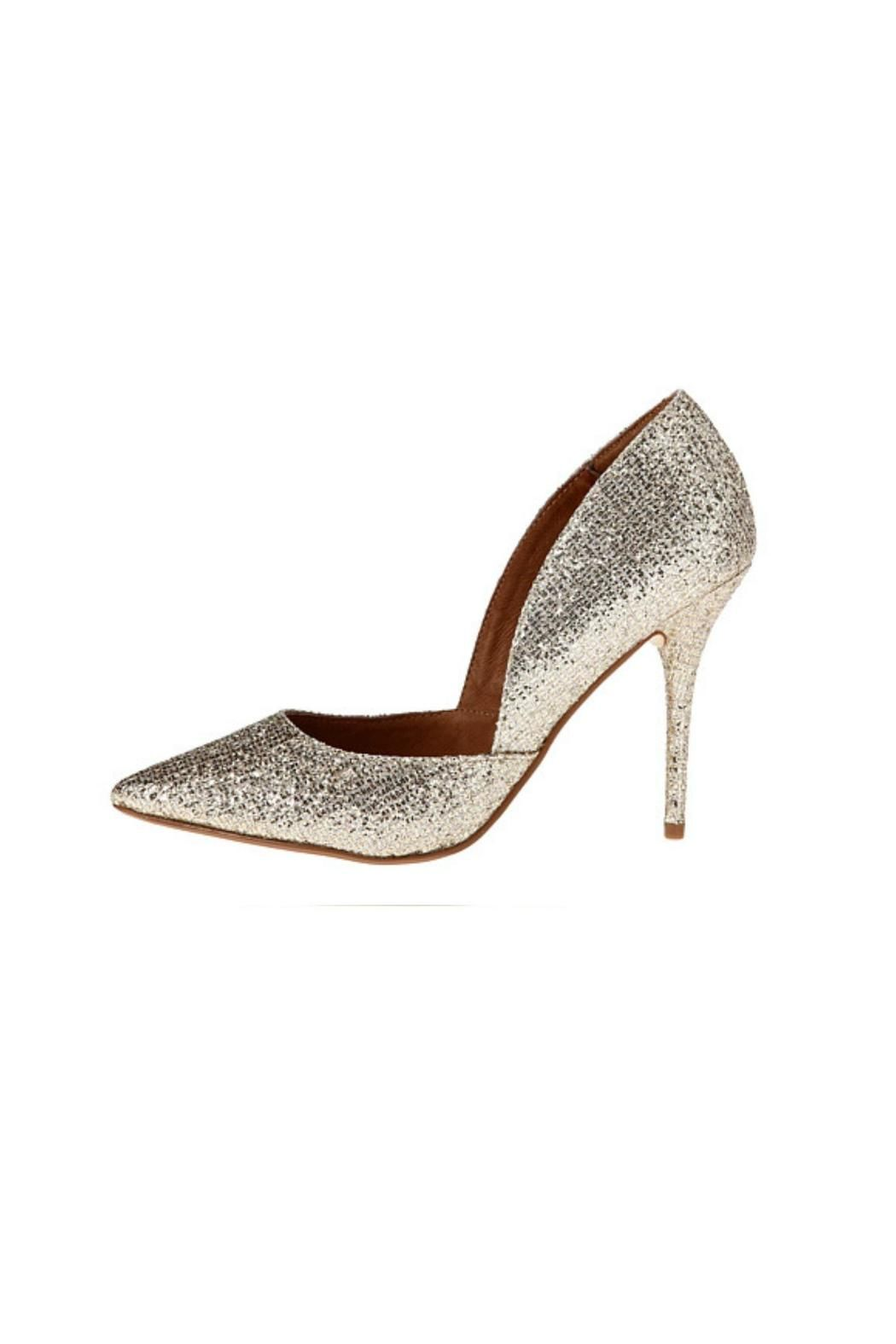 """Slip-on design. Pointed-toe silhouette. Man-made lining. Lightly padded footbed. Wrapped heel. Man-made sole.    Heel Height: 4"""";Weight: 11 oz   Stilo Pump by Chinese Laundry. Shoes - Pumps & Heels - High Heel Shoes - Pumps & Heels - Pumps Louisiana"""