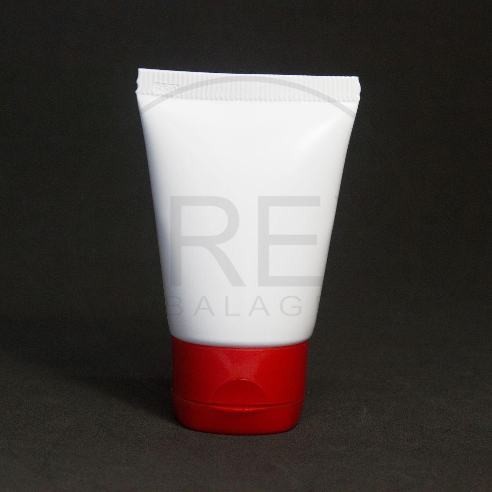 DREX Embalagens - Bisnaga Plástica 30ml Branca c/tp Flip Top