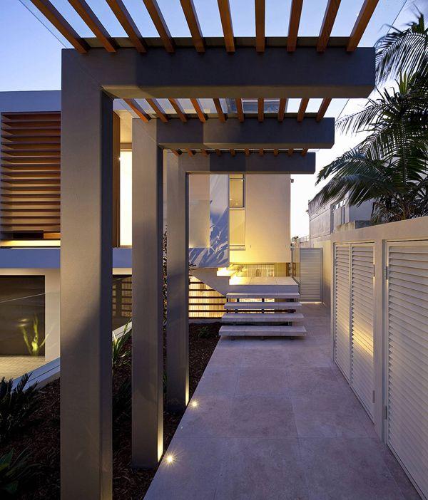 Pergola Designs In Sydney: Contemporary Property In Sydney: Portland Street Duplex