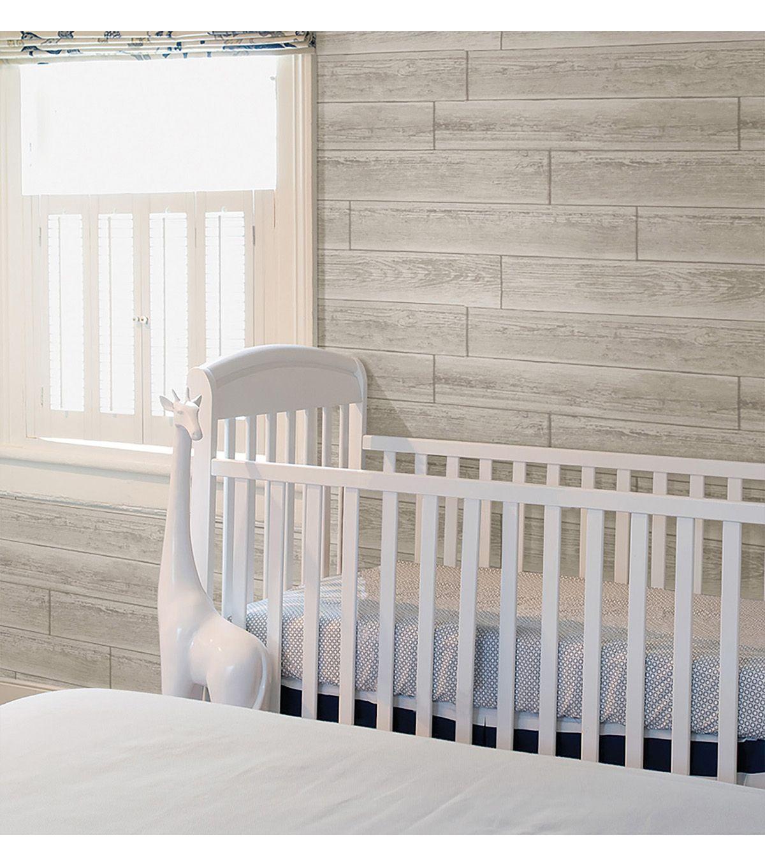 Wide Plank Shiplap Peel And Stick Wallpaper