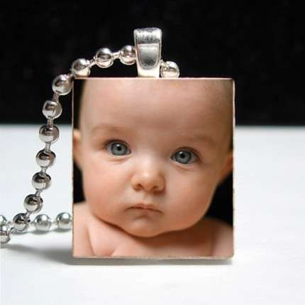 Scrabble tile baby face scrabble tiles pinterest scrabble tile baby face aloadofball Image collections