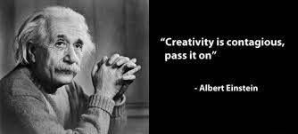 """#MotivationalMonday """"Creativity is contagious, pass it on."""" - Albert Einstein"""