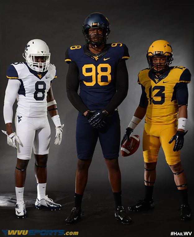 New West Virginia Football Uniforms Football Uniforms Wvu