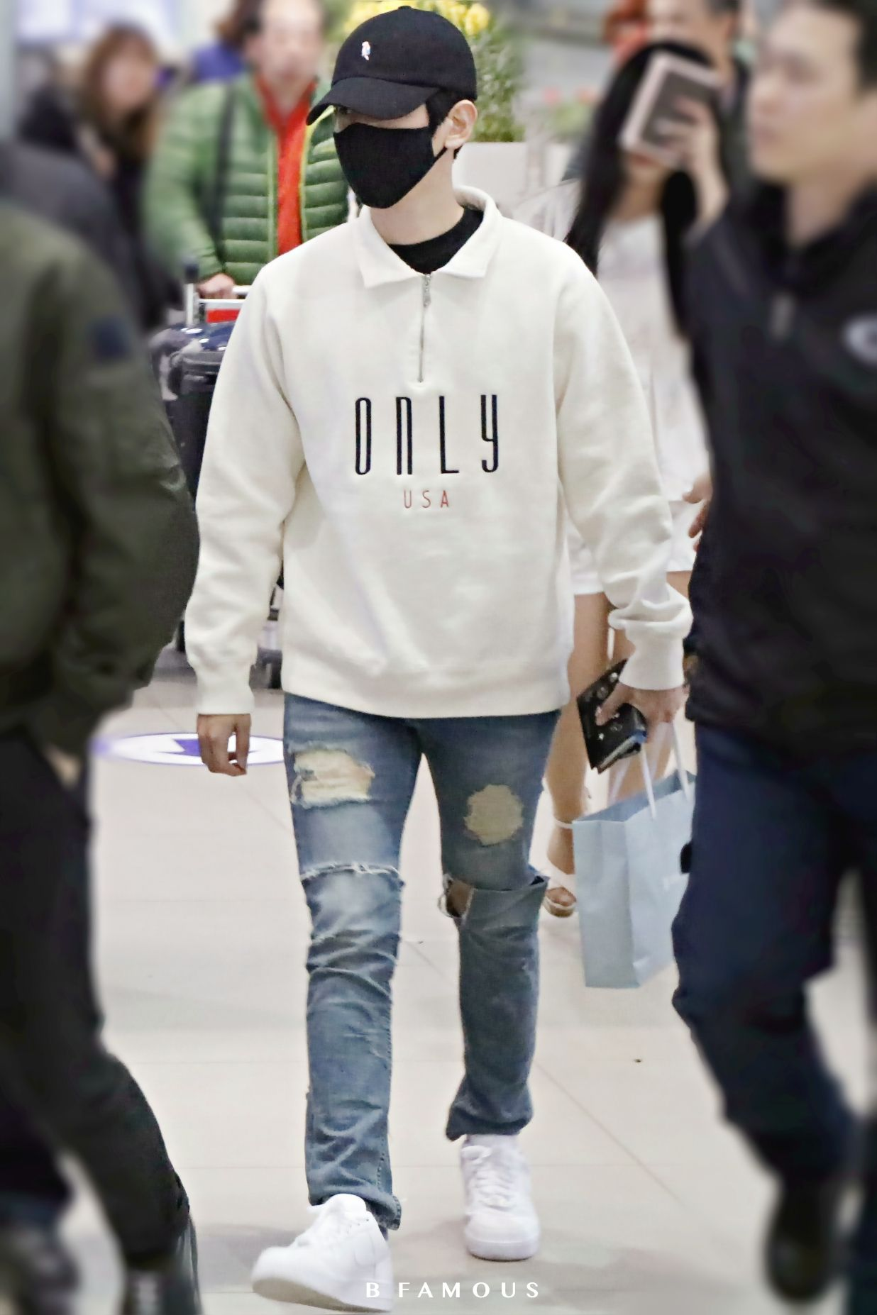 Manga Tomboy Outfits EXO baekhyun | Airport...